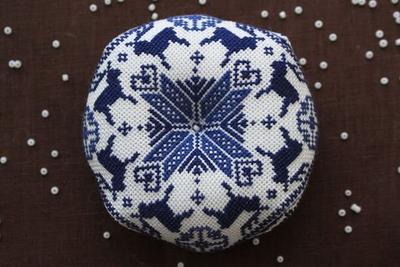 About Handmade: вышивальное