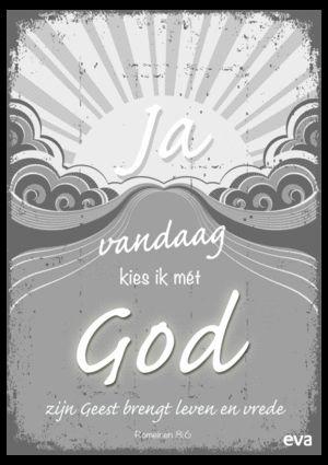 Ik kies met God-poster - Geloven: