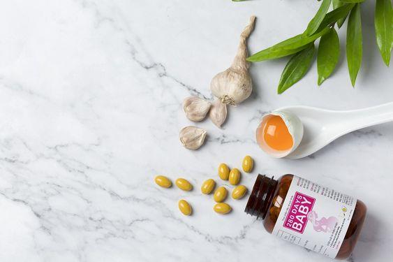 Viên uống tỏi trứng 280 DAYS BABY  Sản phẩm chất lượng đến từ sự tâm huyết