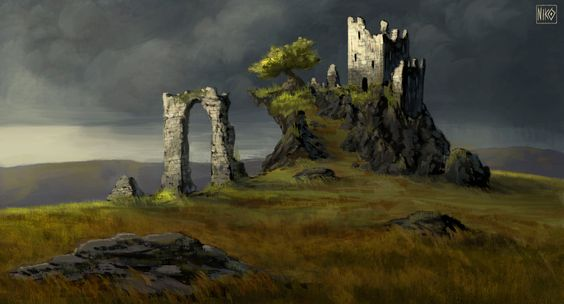 Forgotten Watchtower by NikoKripton.deviantart.com on @DeviantArt