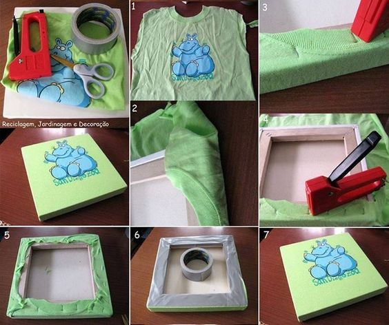 How to recycle a T-shirt / Cómo reciclar una playera