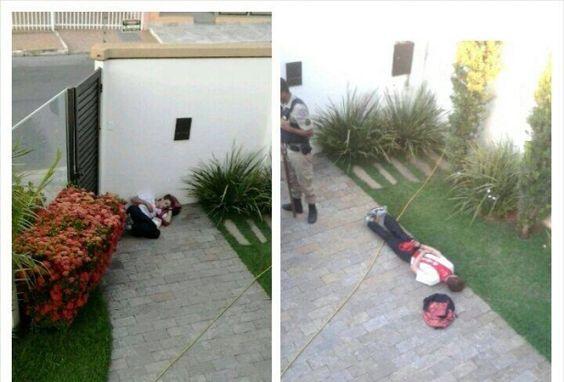 Homem furta casa, dorme abraçado com pote de sorvete e é preso