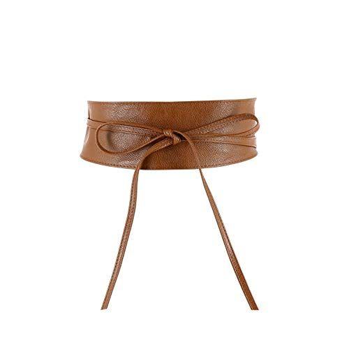 FASHIONGEN MICA Woman leatherette waisband Obi Belt