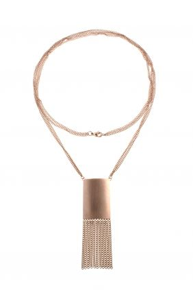 rose gold plated #statement #necklace I designed for NEW ONE I NEWONE-SHOP.COM