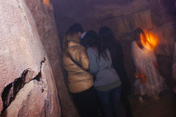 En el #safarinocturno de #halloween deberás pasar por sitios que jamás quisieras ver. JA JA JA...