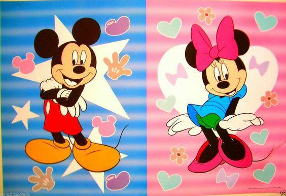 Minnie y Mickey