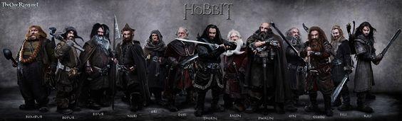 The Hobbit dwarves!