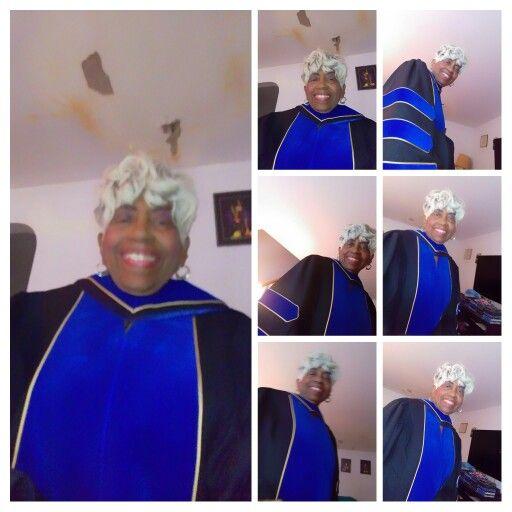 New PhD robe