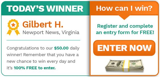 Is TODAY Your Lucky Day? Click Here to Find Out! | Sweepstakes For Days