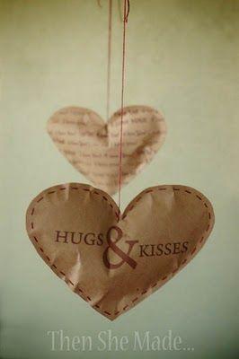 Hugs & Kisses HEARTS