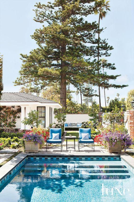 Pool area: