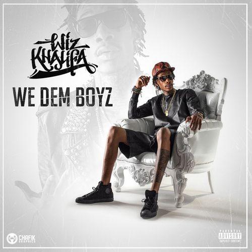 Wiz Khalifa – We Dem Boyz (single cover art)