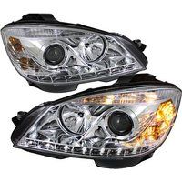 Cheap CPW (tm) 2008-2011 MERCEDES BENZ W204 C CLASS CHROME DRL LED HEADLIGHTS…