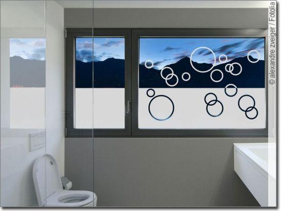 Sichtschutz Ringe Fensterfolie Sichtschutzfolie Fensterfolie