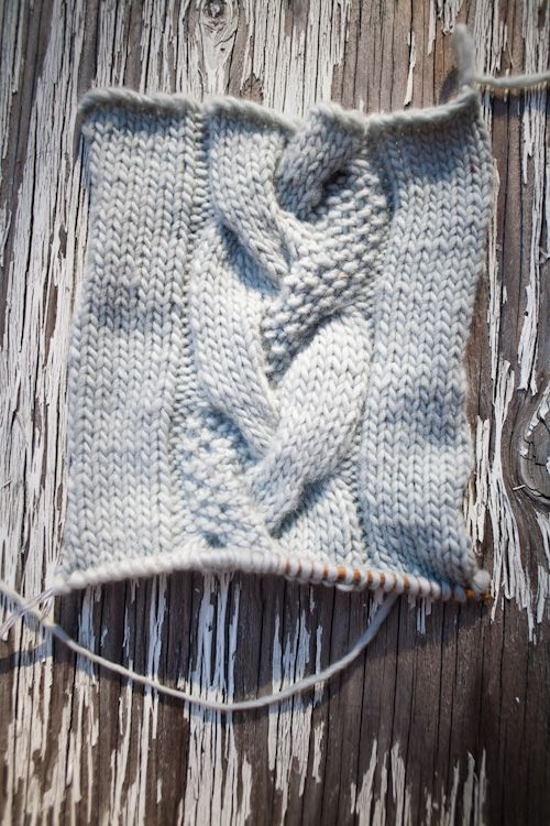 Knitting Stitches To Learn : Cable, Moss stitch and Stitches on Pinterest