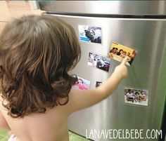 hacer imanes de cocina con niños