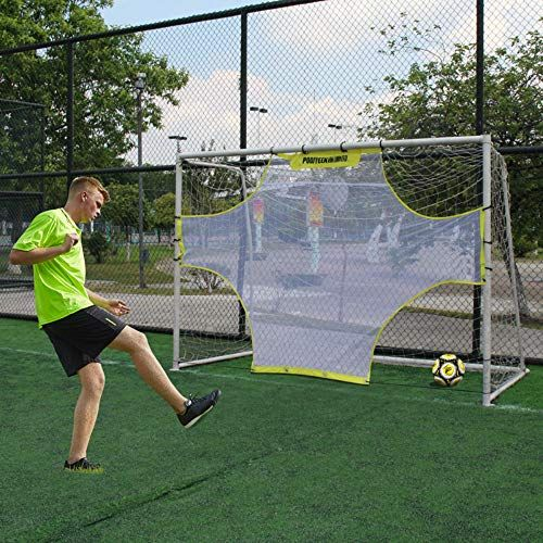 Five Bee Pro Soccer Goal Target Nets 7 Scoring Zones Shooting Training Resilient Sheets Accuracy Training Equipment Or Game Props Porterias Deportes