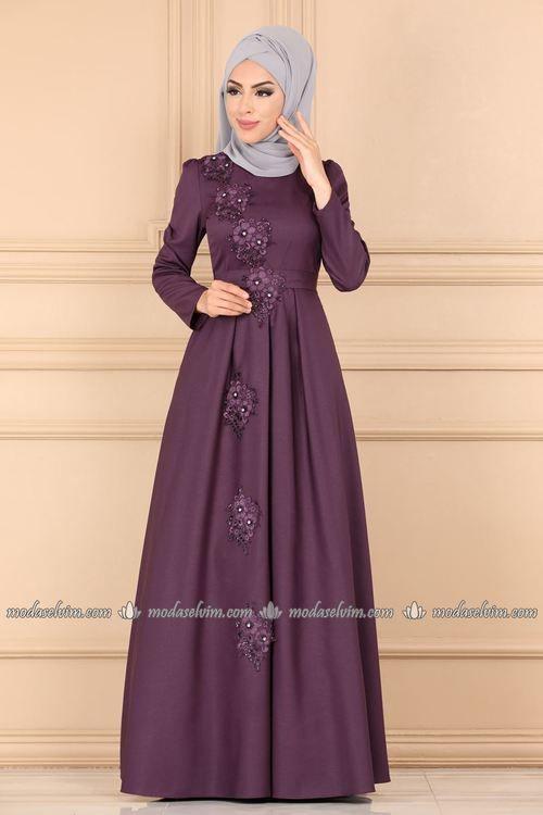 Modaselvim Abiye Gupuru Tasli Abiye 9063w153 Murdum Dengan Gambar Pakaian Wanita Model Pakaian Muslim Model Pakaian