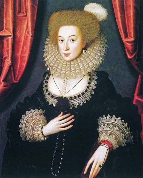 1610 William Larkin (English painter, c 1580 – 1619) Mary Radcliffe m Sir John Gell of Hopton