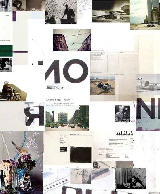 Untitled Collage  Produced by Alejanski for Version Int'l