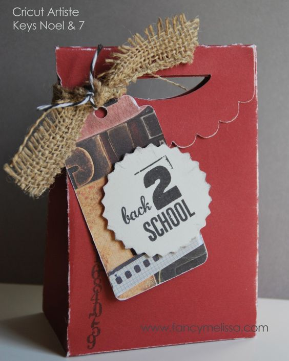 Back to School Gift Bag with Cricut Artiste
