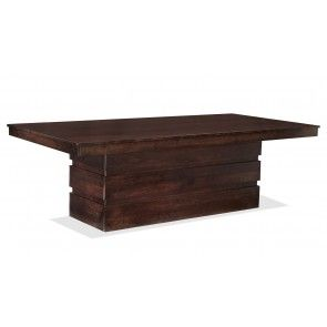 Crescent Cherry Tobacco Dining Table