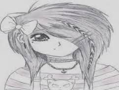 Resultado de imagen para chicas anime emo