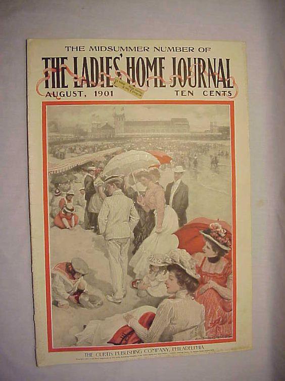August 1901 The Ladies Home Journal by vintagemagazinesinVT