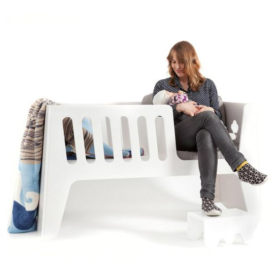 Rocky 4 in 1 Convertible Nursery System  click image to purchase & view video