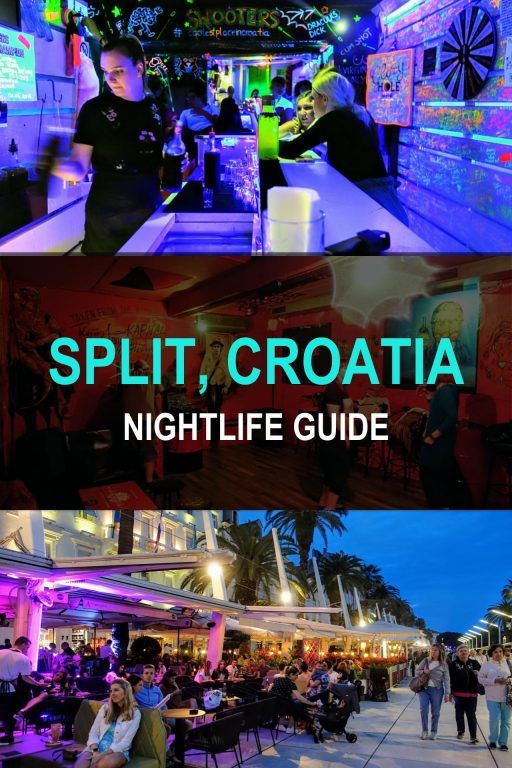 Split Croatia Nightlife Best Bars Clubs What To Expect Jack And Gab Explore Gap Year Travel Split Croatia Night Life