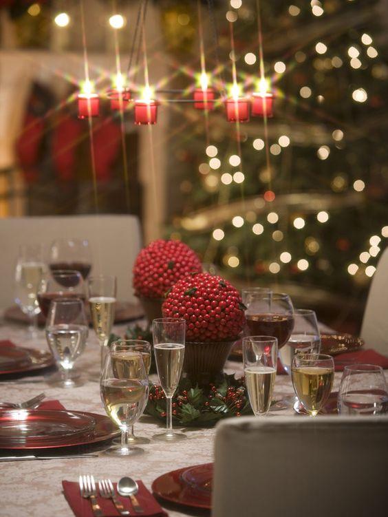Elegant New Year's Eve Decorations | ... : DECORAÇÃO PARA O ANO NOVO! (4) New Year's Eve Table Decorations