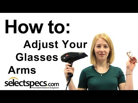 Learn How To Make Simple Adjustments To The Arms And Nose Pads Of Your Glasses For A Better And More Comfortable Fit Glasses Arms Glasses Fit Glasses