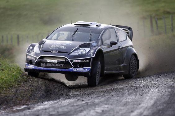 Ott Tanak Rally Car Ford Racing Rally Racing