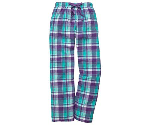 Boxercraft Women's Cozy Flannel Pajama Lounge Pants With Pockets ...