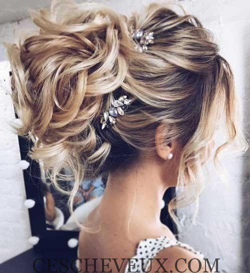 Long Coiffure De Mariage Weddinghairstyles Hair Styles Simple Wedding Hairstyles Wedding Hair Inspiration
