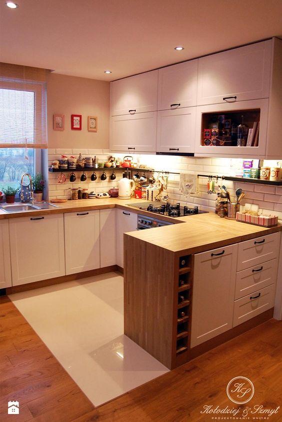 COTTAGE - Kuchnia - Styl Eklektyczny - Kołodziej\Szmyt (biała - alno küchen werksverkauf