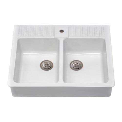 Ikea Farmhouse Sink Double Bowl Wohnen In 2019 Kuchen