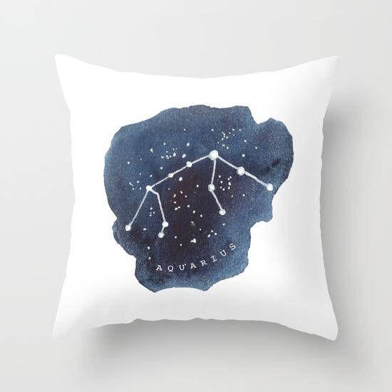 Wassermann Konstellation Kissen Wassermann Astrologie Sternzeichen