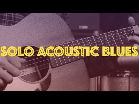Learn A Beautiful Solo Blues Fingerstyle Acoustic Lesson Youtube Blues Guitar Lessons Blues Guitar