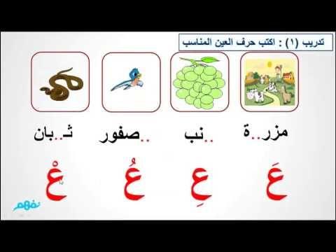 حرف العين لغة عربية الصف الاول الابتدائى موقع نفهم موقع نفهم Youtube Apple Wallpaper Iphone Apple Wallpaper Toddler Activities