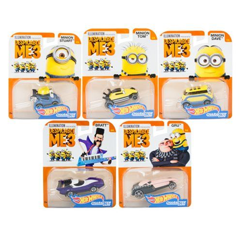 Hot Wheels Despicable Me Character Vehicle Case Hot Wheels Hot Wheels Cars Business Card Case