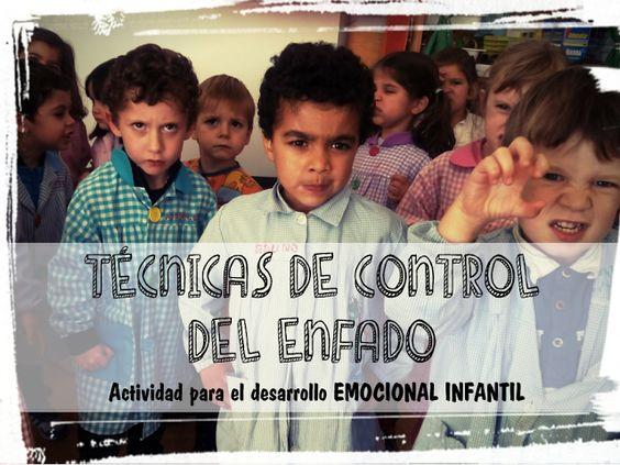 Técnicas de control del enfado. Desarrollo emoiconal infantil.