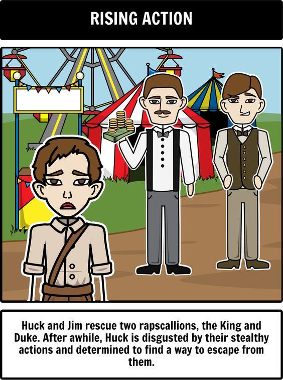 a plot overview of the story of huckleberry finn The adventures of huckleberry finn summarized in four minutes huck finn is a poor kid with an abusive dad who travels up the mi.