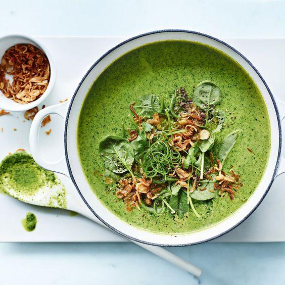 coconut milk coriander cilantro thai soup recipe cream of broccoli ...