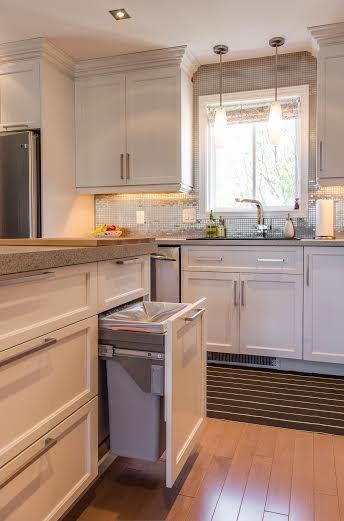 Les Meilleures Images Du Tableau Cuisine Sur Pinterest - Poubelle meuble de cuisine pour idees de deco de cuisine