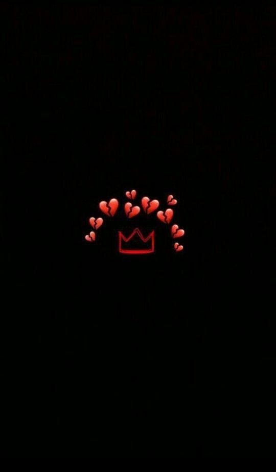 Pin By Kmmhh On Death Cute Emoji Wallpaper Emoji Wallpaper Broken Heart Wallpaper