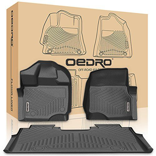 110 49 Save 21 Lightningdeal 75 Claimed Oedro F150 Floor Mats Liners Supercrew Cab Compatible For 2015 2018 Ford F150 Uniq With Images Floor Mats Floor Liners F150