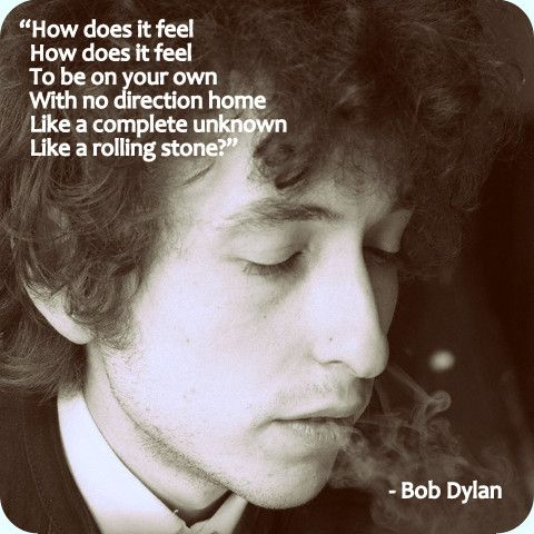an interpretation of bob dylans like a rolling stone Listen to like a rolling stone from bob dylan's highway 61 revisited for free, and see the artwork, lyrics and similar artists.