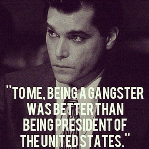 Ray Liotta In Portraying Henry Hill In Scorcese's Classic