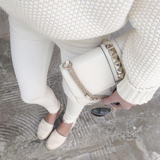 Valentino espadrilles + bag